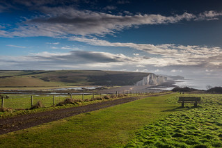 The path to Cuckmere Haven