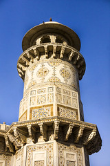 """Baby Taj"" Minaret (Mike Legend) Tags: india agra itimad baby taj"