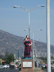 La Tequilera, statue on Highway 15, El Arenal, Mexico (Paul McClure DC) Tags: tequilacountry jalisco mexico apr2018 elarenal sculpture