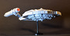 Star Trek Enterprise NX01 LEGO 06 (Paulygons) Tags: fiction trek mini micro small custom moc spaceship science enterprise nx01 lego