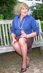 Wheatblushrtsit-001 (fionaxxcd) Tags: crossdressers crossdressing transvestite trannie tranny m2f mtf girlyboi tights stilettos rednails pearls