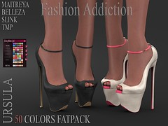 URSULA SHOES (Owner Fashion Addiction) Tags: event suicidedollz belleza venus isis freya maitreya shoes slink physique hourglass tmp secondlife fashionaddiction