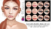 [LeLuck] Blossom Dreams (Sunkora) Tags: secondlife set makeup eyeshadow gloss lipgloss freckles mole catwa omega applique event draw selfmade redhead
