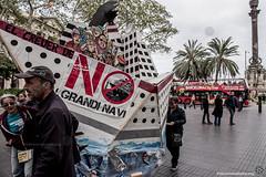 2018_04_07 Stop creuers_Xavi Ariza(01) (Fotomovimiento) Tags: fotomovimiento barcelona gentrificación stopcruises catalunya catalonia cataluña cruceros manifestación demostration turismo lasramblas pancarta