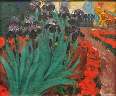 """Blaue Iris II"", 1915, Emil Nolde (1867-1956), Musée des Beaux-Arts, Hambourg, Allemagne. (byb64) Tags: muséedesbeauxarts hamburgerkunsthalle hambourg hamburg hamborg allemagne germany deutschland germania alemania elbe hamburgo amburgo rfa brd ville stadt city town citta ciudad musée museo museum beauxarts kunsthalle bellasartes collection sammlung europe europa eu ue coleccion tableau painting cuadro dipinto xxe 20th emilnolde nolde expressionisme expressionismus"
