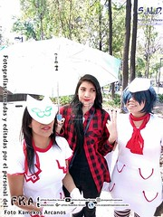 Grupal (95) (Foto Kamekos Arcanos) Tags: gorillaz cosplay 2 shironodesaina fotokamekosarcanos