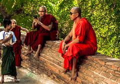 Lawka Nanda Temple Bagan  Myanmar-60 (Yasu Torigoe) Tags: lawkanandaisatieredgildedpagodawhichwasbuiltinthe11t mandalayregion myanmarburma mm lawkanandaisatieredgildedpagodawhichwasbuiltinthe11thcenturyandknownforitsenshrinedreplicaofbuddhastooth