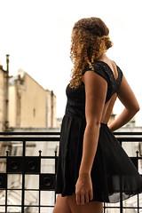 Au bort du balcon / Paris (moltes91) Tags: paris france accor hôtel m gallery lhéchéquier opéra nikon d7200 35mm nikkor f18 robe dress shooting woman femme beautiful girl