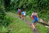 Trekking to the waterfall (Stinkee Beek) Tags: lombok yewyen adi erin ethan