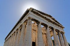 Athens - Temple of Hephaestus (Nikolaos Gavrilakis) Tags: gavrilakis nikon d750 temple hephaestus greece attiki athens ancient υφαίστου ναόσ αθήνα αττική νίκοσγαβριλάκησ