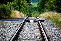 Wege (SilberfuchsWB) Tags: gleis schiene übergang weg