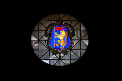 Round window in Faenza Cathedral