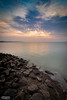 (J.Douglas.) Tags: sunset clouds beach rocks sky reflection sunrise kent coast shore herne bay water