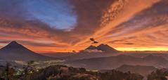 stunning landscape (neritron) Tags: pãºrpura landscape landscapes beautiful impressive stunning paradise red orange sunset clouds cloud color colour colorful colourful volcan volcano volcanoe volcanoes