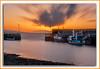Sunset over Helvick (tippjim) Tags: sunset seascapes boats helvick