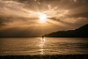 Sail away (Vagelis Pikoulas) Tags: sail sailboat woman girl sunset porto germeno greece europe spring april 2018 tokina 2470mm view landscape sea seascape sky sun colors clouds cloudy rays