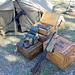 Supplies at German Camp, World War II Weekend