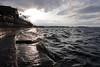 Waves on the steps (danielhast) Tags: madison lake mendota terrace waves sky sun clouds steps color low angle lowangle lakemendota water