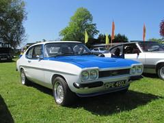 Ford Capri 1600 L DPE450J (Andrew 2.8i) Tags: evesham show meet club international cci sports sportscar classic classics car cars capri ford mark 1 mk mk1 cosworth v6 1600l 16 1600 l 16l boa