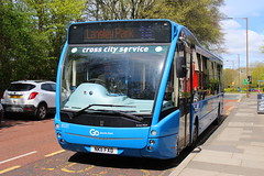 GO NORTH EAST 8321 NK11FXD IS SEEN AT THE GARDEN HOUSE, DURHAM ON 4 MAY 2018 (47413PART2) Tags: nk11fxd gonortheast bus nebuses