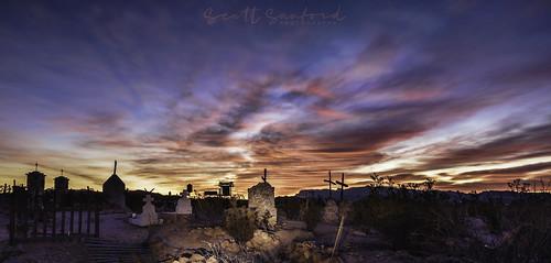 Light Painting at Sunrise