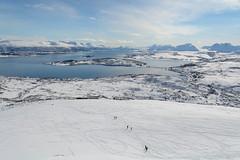 Stay safe and keep skiing (TerjeLM) Tags: kvaløya merkedager påske rødtind skiing skitur vinter winter