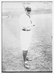 [Carl Mays, New York AL (baseball)] (LOC) (The Library of Congress) Tags: libraryofcongress dc:identifier=httphdllocgovlocpnpggbain31101 baseball baseballplayer carlmays mays americanleague al newyorkhighlanders highlanders newyorkyankees yankees pologrounds