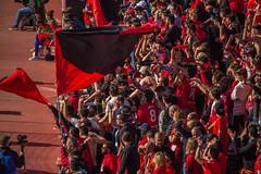 _MG_7211 (sergiopenalvagonzalez) Tags: futbol domingo palma de mallorca pelota jugadores aficion rojo negro pasion