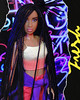 Indi (alexbabs1) Tags: the fresh dolls indigo world epi doll toy black african american ethnic diversity braids cool glam neon ripped paper aesthetic movement dr lisa williams sarah palins bangs