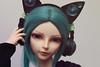 Luts Delf El (Damasquerade) Tags: bjd legit luts delfel ball jointed joint doll headphones cat ear ears boy stockings