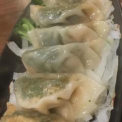 筋肉餃子 鶏胸肉ですって。 #筋肉食堂 (S14U) Tags: instagram ifttt