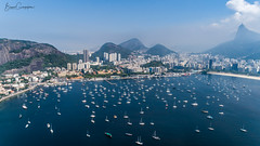 Iate Club Rio de Janeiro (brunogargaglione) Tags: rio de janeiro urca brazil brasil landscape landscapes cityscape cityscapes seascape seaside seashore sea seascapes marina iate club clube townscape city scenics scenic boat boats christ redeemer cristo redentor corcovado sugar loaf water cliff cloud cloudscape clouds cloudscapes cloudy cliffs cliffside drone drones