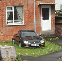 1997 MG F (shagracer) Tags: abandoned unloved undergrowth neglected sorn stood laid up forgotten p490nbk mg mgf f