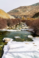 Spring break (Mijan Rashid) Tags: india indiansubcontinent ice water waterscape white winter spring mountain mountains morning march2017 bangladeshi southasia sunnyday day outdoor river torrent tamron tamron18270mm travel tree travelphotography asia asian landscape ladakh land lanscape canon canon1100d canon1100 frozen himalayas himalaya hills jammukashmir kashmir line photography valley nature