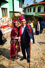 Portrait of newly married couple in Cumalikizik Village, Bursa, Turkey (CamelKW) Tags: 2018 bursa turkey