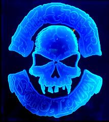 crobar skull (n.a.) Tags: blue neon skull crobar soho london
