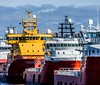 Supply Vessels, Aberdeen (that petrol emotion) Tags: img3101 oilandgas aberdeen scotland torry psv platformsupplyvessel southesplanadewest offshore petrochemical