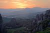 Greece (denismartin) Tags: greece europe mediterraneansea geology meteores sunset sunsetlight thessalie kalambaka orthodoxmonasteries rockformation mountain meteora plainofthessaly pineiosriver pindusmountains unescoworldheritagesite denismartin