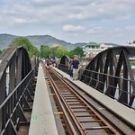 The infamous bridge over the River Kwai in Kanchanaburi, Thailand thumbnail
