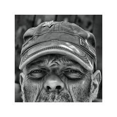 Comrades ! (CJS*64) Tags: comrade comrades hat man person people portrait panasoniclx100 lx100 blackwhite bw blackandwhite whiteblack whiteandblack mono monochrome cap