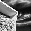 Urban abstract (beninfreo) Tags: perth westernaustralia wa australia architecture angle angles canon5d3 50mm mono monochrome black blackandwhite blacksky cloud lamppost