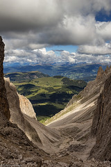 Vallone del Sassolungo (cesco.pb) Tags: vallonedelsassolungo valdifassa valgardena canon canoneos60d tamronsp1750mmf28xrdiiivcld sudtirol altoadige dolomiten dolomiti dolomites alps alpi trentino trentinoaltoadige italia italy montagna mountains