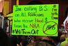More Pre-March Signs (Robb Wilson) Tags: freephotos losangeles marchforourlives antitrumprally antinrarally antigunviolencerally downtownla votethemout
