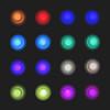 13 / 52 : 2 (Randomographer) Tags: 52weeks arcade game push button light illumination videogame gamer play concave tenyawanyateens 16button controller mashing 13 52 2018