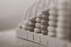 Back in the day: Abacus (victoriameyo) Tags: macromondays backintheday abacus calculation macro object sepia rings old wooden