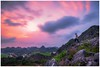Waiting for the sunset (=Heo Ngốc=) Tags: sunset people waiting hill mountains cloudscape longexposure exposureblending d700 tokina1116 countryside vietnam beautiful colorful dramatic grass rock houses village