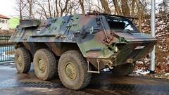Transportpanzer Fuchs (Tobi NDH) Tags: bundeswehr military army transportpanzer tpzfuchs tpz militaryvehicle fuchs1 bundeswehrfahrzeug apc armouredpersonnelcarrier germanarmy deutschland germany radpanzer transportation