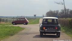 Dyane & Ami (XBXG) Tags: al5371 citroën ami 6 1968 am2989 dyane 4 1971 armhoeksweg lagezoom voorjaarsrit 2018 amiverenigingnederland avn citroënami6 citroënami8 citroënami ami6 ami8 burghhaamstede burgh haamstede schouwenduiveland schouwen duiveland zeeland nederland holland netherlands paysbas vintage old classic french car auto automobile voiture ancienne française vehicle outdoor
