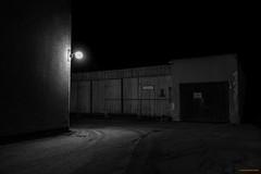 Garage B/W (MIKAEL82KARLSSON) Tags: svartvitt bw sverige sweden sony svartvit garage grängesberg gränges dalarna mikael82karlsson rx100lll