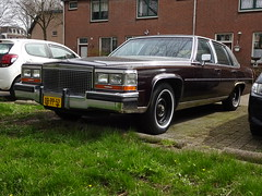 1987 Cadillac Brougham (Skitmeister) Tags: drpp52 car auto pkw voiture carspot skitmeister nederland netherlands holland